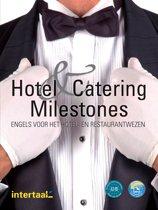 Hotel and Catering Milestones tekst-/werkboek +online MP3's en MP4's