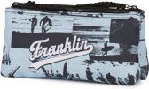 Etui Franklin & Marshall Girls blauw 10x21x6 cm