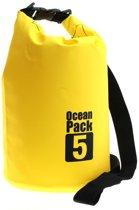 5 Liter - Ocean Pack - waterdichte tas - droogtas - outdoor plunjezak - zeilen