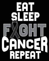 Eat Sleep Fight Cancer Repeat