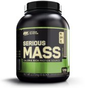 Optimum nutrition ON SERIOUS MASS CKIES&CRM 18LA-2 6LB