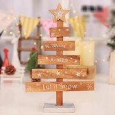 Mini Kerstboom - Merry Xmas - Kerstdecoratie - Hout