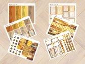 Planner Stickers herfst 1006 voor Mascha Planner