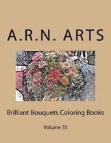 Brilliant Bouquets Coloring Books