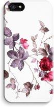 iPhone 5 / 5S / SE Volledig Geprint Hoesje (Hard) (Glossy) - Mooie bloemen