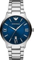 Emporio Armani horloge  - Zilverkleurig
