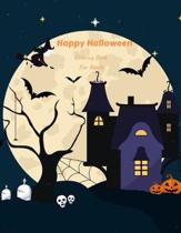 Happy Halloween Coloring Book For Adults