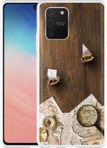Samsung Galaxy S10 Lite Hoesje Avontuur Bootjes