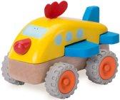 Houten speelgoedvoertuig Vliegtuig