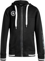 0631f3714b2 Indian Maharadja Kids Tech Hooded FZ Sweater - Jassen - zwart - 164