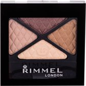 Rimmel Glam'Eyes Quad Eyeshadow - 002 Smokey Brown - Oogschaduw Palet