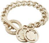 TOV Essentials Armband 0711.001 - Mini Flat Chain Bracelet - 18-20 cm - Champagne Goudkleurig