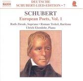Deutsche Schubert-Lied-Edition Vol 7 - European Poets Vol 1