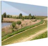 Natuurgebied in Europa Glas 60x40 cm - Foto print op Glas (Plexiglas wanddecoratie)