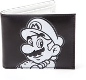 Nintendo - Super Mario Black and White Bifold Portemonnee