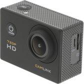"""Camlink HD-actiecamera 720p met 2""""-touchscreen"""