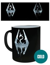Skyrim - Dragon Symbol Heat Change Mug