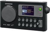 Sangean-WFR-27C - Internet radio - Zwart