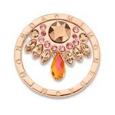 Mi Moneda Arana Peach Rosegold Plated Munt SW-ARA-52-L (Maat L)