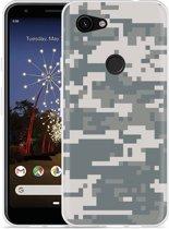 Google Pixel 3a Hoesje Army Digi Camouflage
