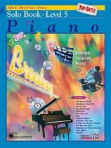 Alfred's Basic Piano Library Top Hits! Solo Book, Bk 5