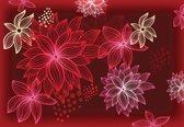Fotobehang Flowers Forest Nature | XXL - 312cm x 219cm | 130g/m2 Vlies