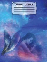 Mermaid Love Composition Notebook