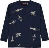 Tumble 'n dry Jongens T-shirt Vester - Blue Dark - Maat 122