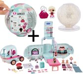 LOL Surprise 2-In-1 Glamper - Camper + L.O.L. Surprise Ball Winter Disco