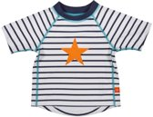 Lässig Splash & Fun Korte mouw Rashguard / zwemshirt - sailor 6 maanden