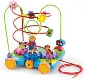 Viga Toys - Kralenframe Boerderij - Trekfiguur
