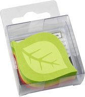 info shaped sticky notes 50x50mm assorti 225 vel,  model boomblad