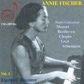 Fischer, Annie Vol.1 2 Dvd+Cd