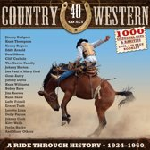 Country & Western  40-Cd Box