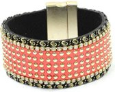 rose- magneet-strass- armband-breed