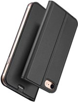 Apple iPhone 8 / iPhone 7 Wallet Case Slimline - Zwart