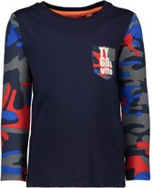 TYGO & vito Jongens T-shirt - donker blauw - Maat 92