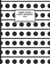Graph Ruled Paper Notebook 5X5: Grid Notebook Paper 5 Squares Per Inch Index and Numbered Page Interior
