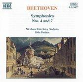 Beethoven: Symphonies 4 & 7 / Drahos, Esterhazy Sinfonia