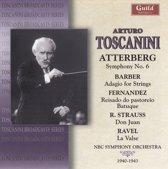 Toscanini - Atterberg, Barber, Rave