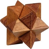 Moses Be Clever! Houten Smart Puzzels Ster