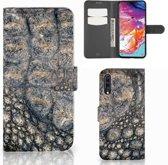 Smartphone Hoesje Samsung Galaxy A70 Krokodillenprint