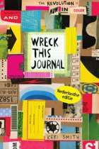 Omslag van 'Wreck this journal, nu in kleur!'
