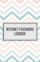 Internet Password Logbook-Small Size Alphabetical Password Notebook Organizer-5.5''x8.5'' 120 pages Book 1: Keep Track of Usernames Passwords Websites-B