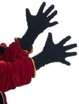3x zwarte piet handschoen volwassene 55cm