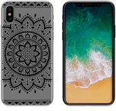 MP Case TPU case Tribal print voor Apple iPhone X -Achterkant / backcover