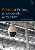 Checklist privacy: privacybeleid in 30 checklists