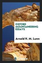 Oxford Mountaineering Essays
