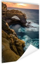 Great Ocean Road Australie Poster 80x120 cm - Foto print op Poster (wanddecoratie woonkamer / slaapkamer)