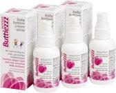 Luieruitslag: 3 stuks Buttiezzz Intense Babybillen crèmespray